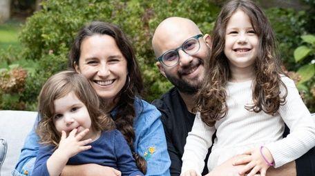 Psychologist Dr. Chelsey Miller, left, and her husband,