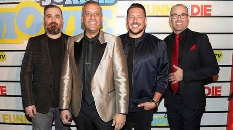 Impractical Jokers Comedian James Murr Murray Married Newsday Proud dad of the @gatto_pups instagram: comedian james murr murray married