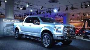 The Ford Atlas concept, which hints at the