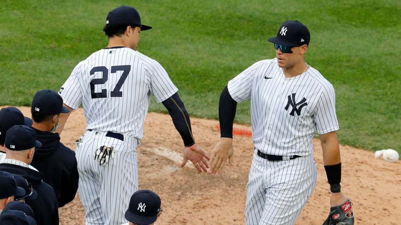 With the Yankees locked into the No. 5