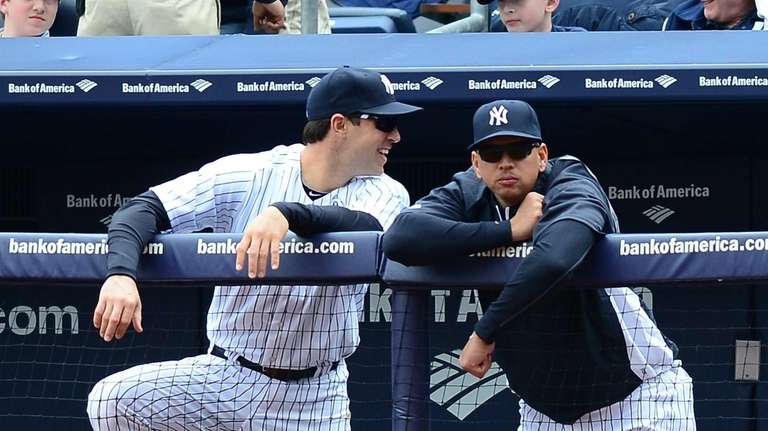 Mark Teixeira and Alex Rodriguez, both of whom