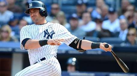 New York Yankees Francisco Cervelli knocks in two