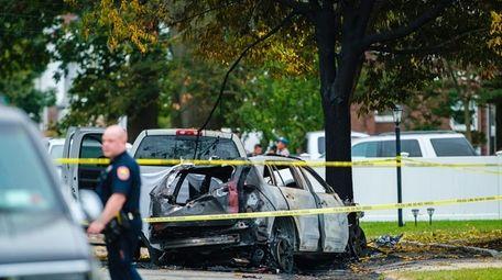Investigators collect evidence on Hudson Avenue in Roosevelt