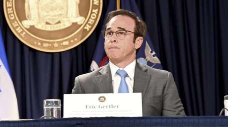 Eric Gertler, CEO of Empire State Development, the