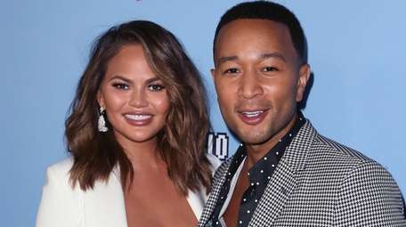 Chrissy Teigen and husband John Legend are expecting
