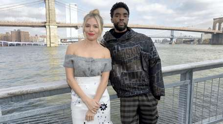 Sienna Miller and Chadwick Boseman co-starred in the