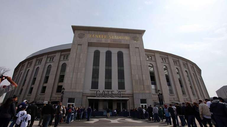 Yankee Stadium in the Bronx is the home