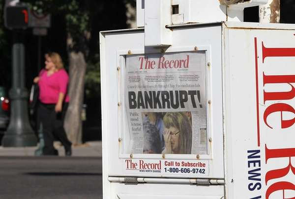 Last June the local paper in Stockton, Calif.,