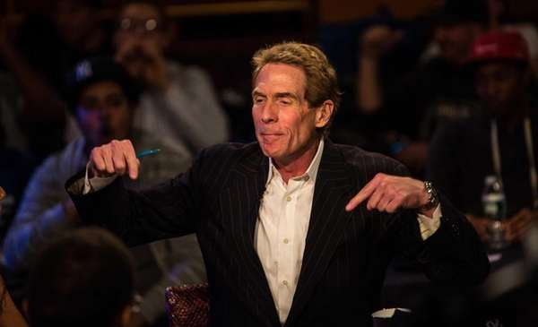 ESPN's controversial quot;First Takequot; show featuring Skip Bayless