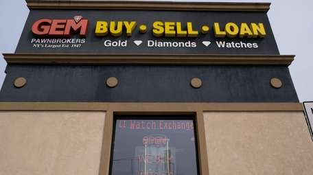 Loans are down 30% at Gem Pawnbrokers, president