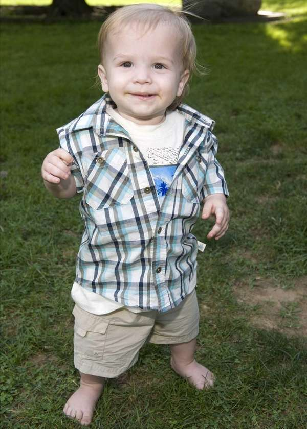 Jericho, the son of Anthony and Melissa Bennett