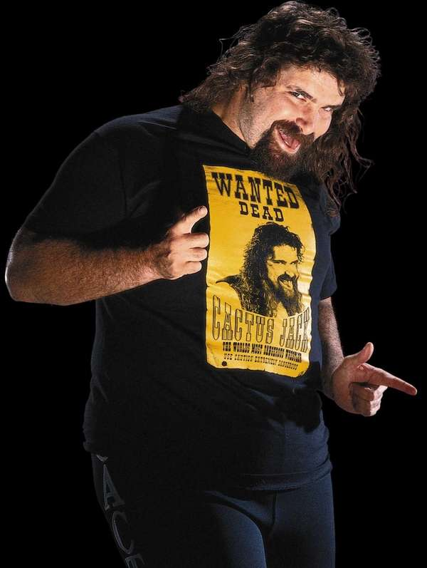 Mick Foley's interviews while working as Cactus Jack
