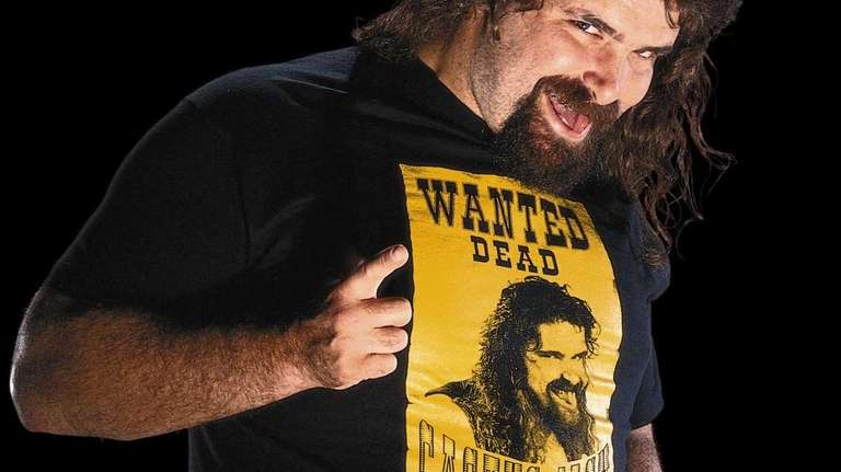 Long Island native Mick Foley's interviews while working