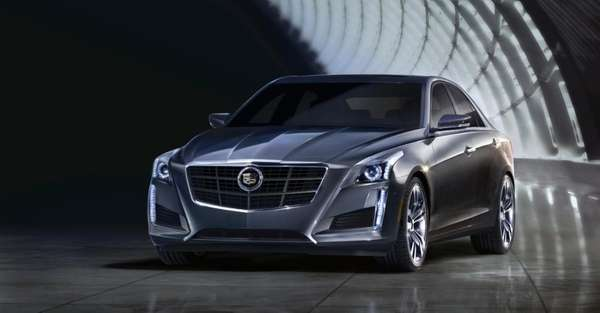 The 2014 Cadillac CTS was unveiled ahead of