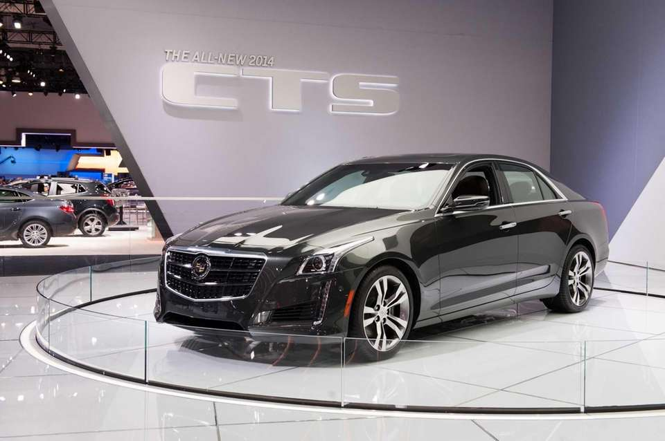 General Motors unveiled a revamped Cadillac CTS for