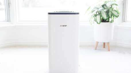AirSoap is an air purifier that uses technology