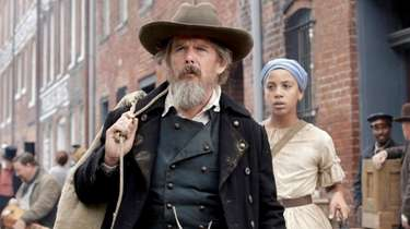 Ethan Hawke as John Brown and Joshua