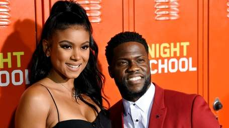 Kevin Hart and wife Eniko Parrish welcomed daughter