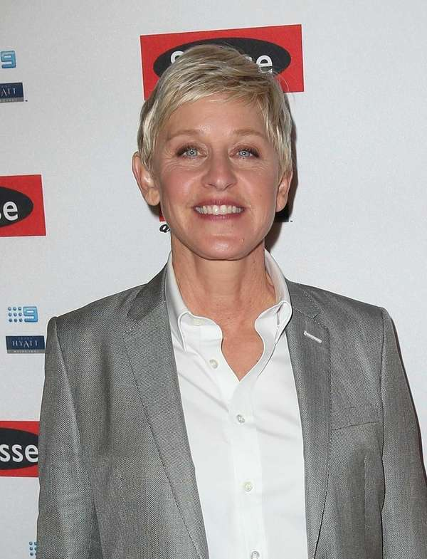Ellen DeGeneres arrives at a party in Melbourne,