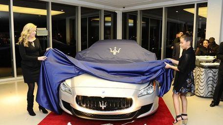 The 2014 Maserati Quattroporte is revealed at Ferrari-Maserati