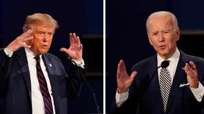 The first Presidential debate was held Tuesday night