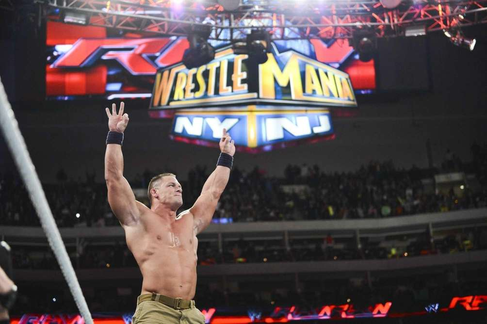 WWE's John Cena stars in the main event