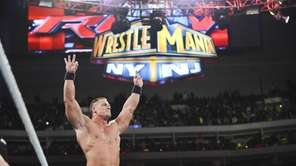 WWE?s John Cena stars in the main event