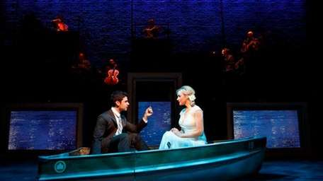 Adam Kantor and Betsy Wolfe in