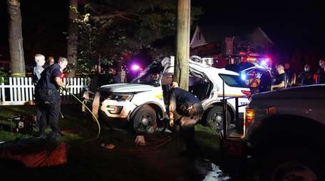 A Nassau County 1ST PCT officer was involved