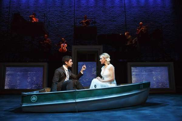 "Adam Kantor and Betsy Wolfe in ""The Last"