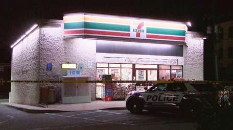 A shoplifter was killed in a confrontation outside