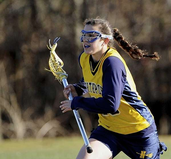 Northport midfielder Cortney Fortunato controls the ball against