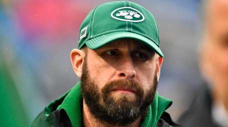 New York Jets head coach Adam Gase before