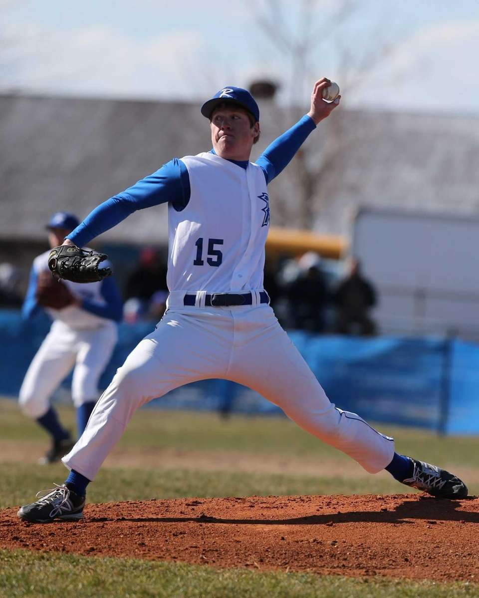 Riverhead's Matt Crohan, pictured, pitched his second no-hitter