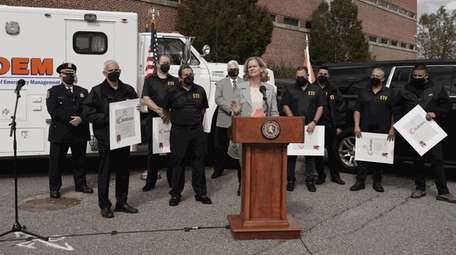 Nassau County Executive Laura Curran talks about the