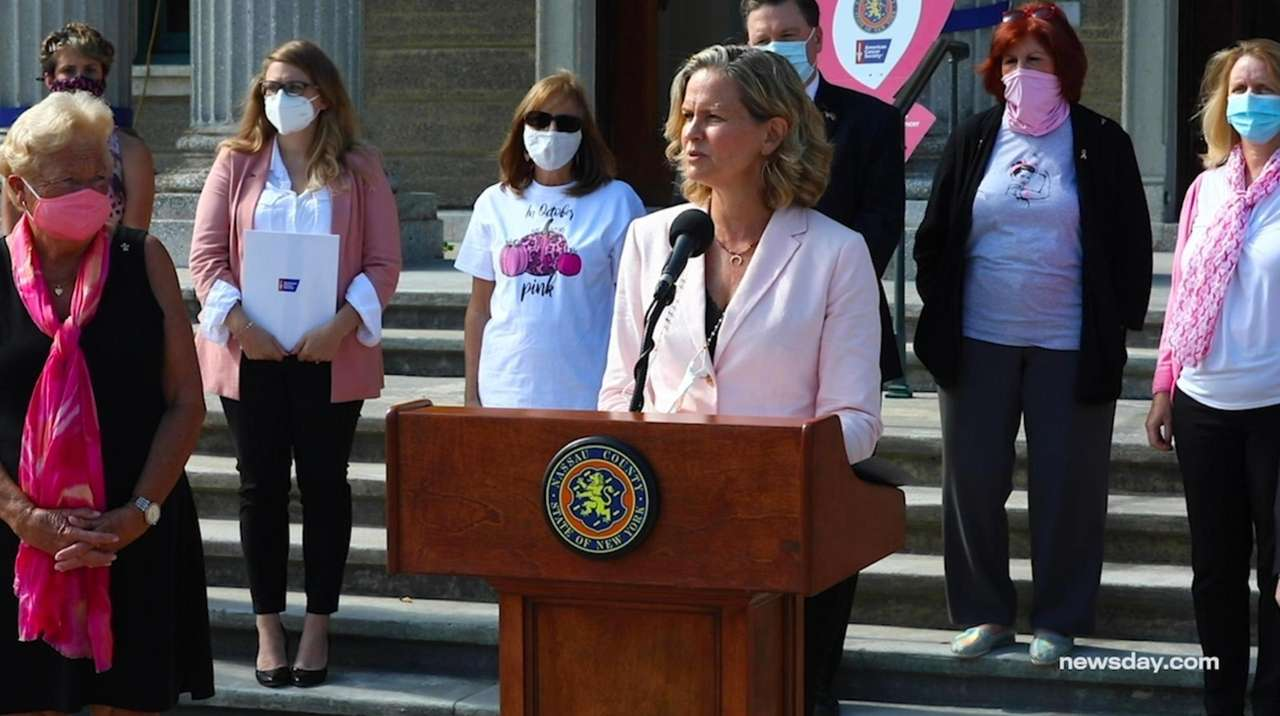 On Thursday, Nassau County Executive Laura Curran and