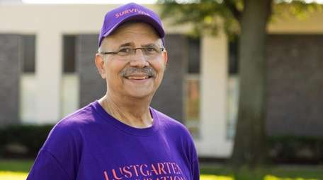 Pancreatic cancer survivor Joel Evans of Commack, 72,