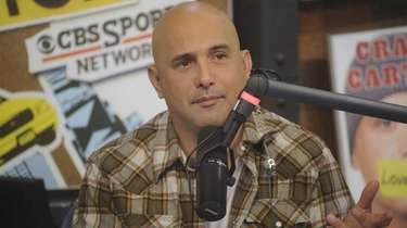 Craig Carton co-hosts WFAN's morning show on October