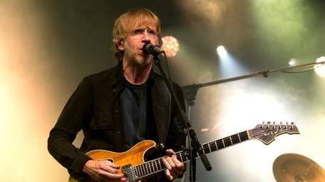 Trey Anastasio of the band Phish performs during