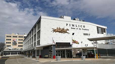 A general view of Pimlico Race Course on
