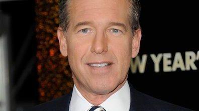 NBC News anchor Brian Williams attends the premiere