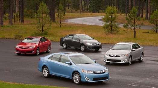 The 2013 Toyota Camry is still the top-selling