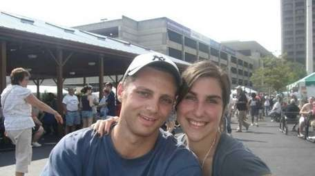 Joseph Anatra, 31, of Oyster Bay, with his