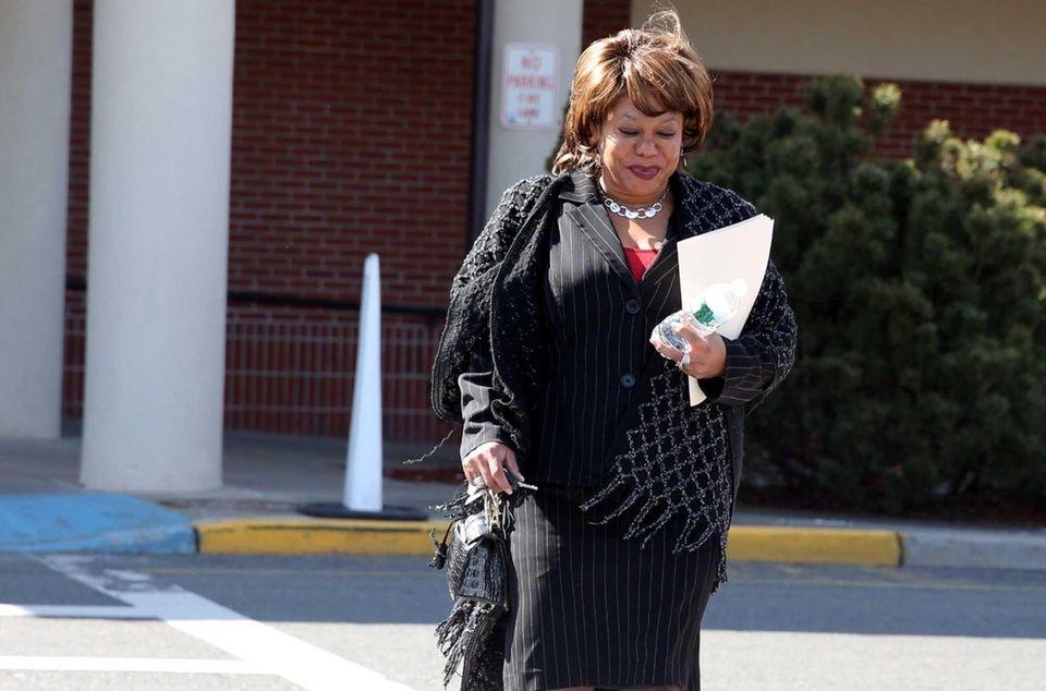 Spring Valley Mayor Noramie Jasmin leaves her office
