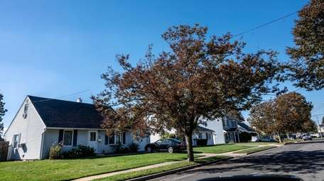 Homes in Massapequa, which is considered a hot