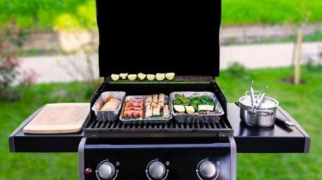 A backyard barbecue