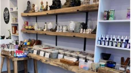 Dawn Cartolano opened the Moon Child Remedies crystals