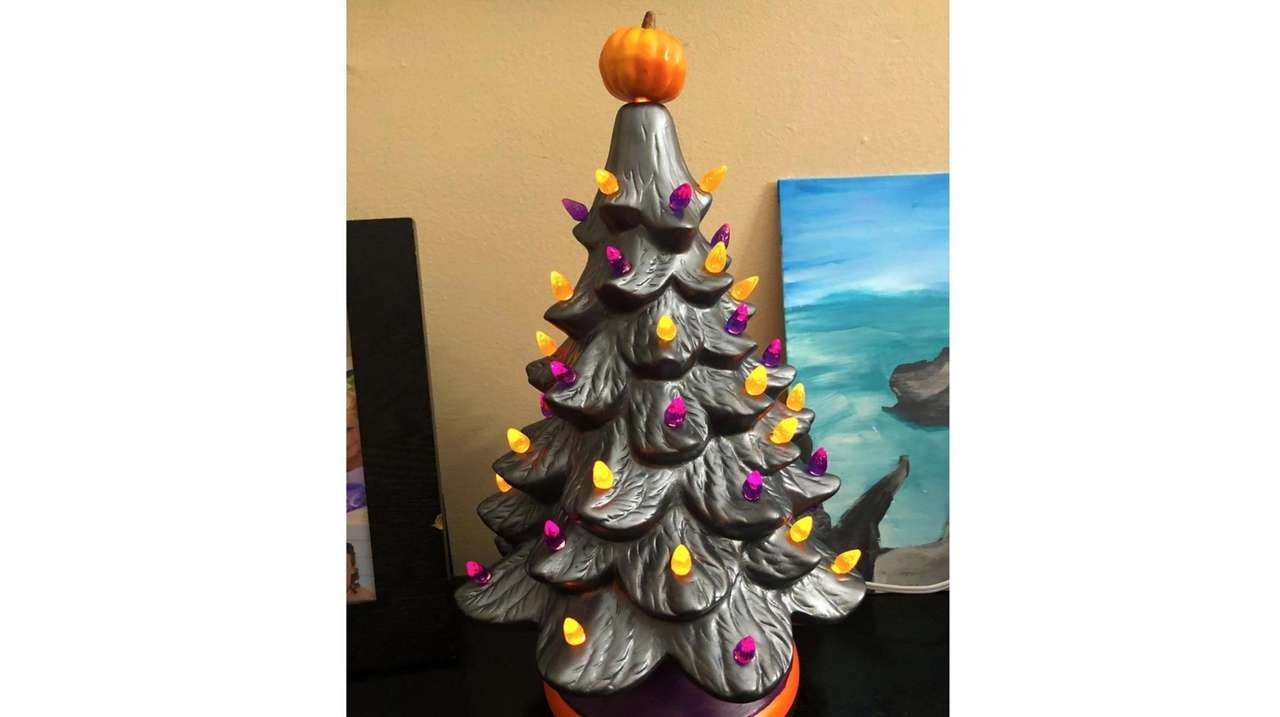 Decorate Your Own Ceramic Halloween Tree At These Craft Classes Newsday