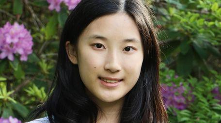 Sabrina Guo, 14, Syosset High School sophomore.