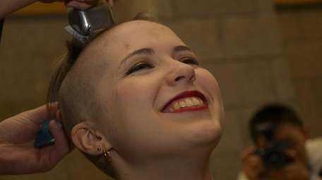 Junior Nicole Bansen, 20, of Lindenhurst, raised $2,350